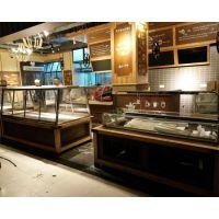 杭州展柜厂加工定制九月生活常温面包展示柜面包架惠利展柜厂HL5508