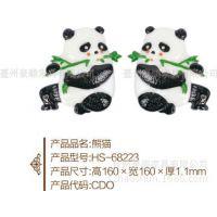 热销儿童玩具 ABS工艺品 熊猫摆件 挂饰 创意家居 熊猫 厂家直销