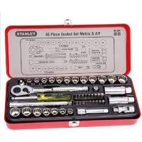 STANLEY/史丹利46件套6.3MM,10MM系列公英制组套/89-516-22