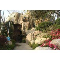 安徽阜阳塑石假山|生态园景观|主题餐厅|景观雕塑|卡通包装|阜阳压模地坪