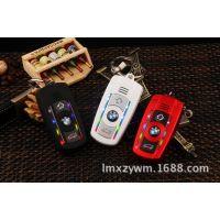 宝马X5 新款1:1车钥匙扣卡通儿童迷你个性手机 带呼吸灯 正品