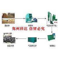 环保木炭生产设备,祥达制造,一套环保无烟木炭机多少钱