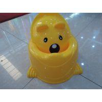 富裕新款卡通熊儿童座便器 婴儿坐便器 小孩便尿盆 马桶 配盖子