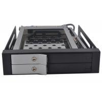 厂家批发2.5寸双层服务器硬盘盒,台式机硬盘盒,SAS硬盘盒ST2523