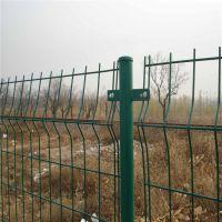 川森丝网 双边丝护栏网 养殖围栏网 绿色护栏网