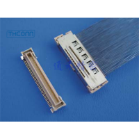供应 I-PEX 20323-050E-12 原厂连接器及匹配的极细同轴线