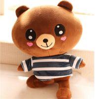 节日礼品毛绒玩具可爱小熊布娃娃公仔 厂家来图打样设计 OIEM定制