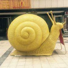 树脂纤维卡通蜗牛雕塑玻璃钢仿真蜗牛砂岩喷水蜗牛人造石蜗牛喷泉