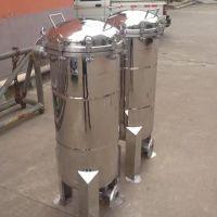 湛蓝纯 润滑油袋式过滤器ф450x430x3袋 化工、石油耐高温精密过滤