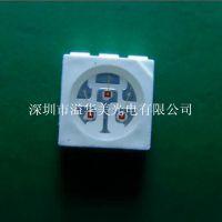 现货供应晶元芯片5050LED贴片灯珠 0.2W贴片红色LED贴片灯珠