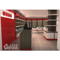 食品展柜厂家-商场零食货架展示柜木质柜台南京厂家