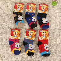 秋冬新款 纯棉4-8岁儿童袜 幼儿袜 多色袜子 批发