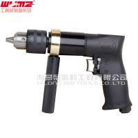 【新款】威马风钻 13MM气钻 WM-3318A 手枪式 1/2钻孔倒角钻嘴