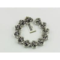 钛钢仿古手链生产不锈钢钛磁能复古首饰设计定做来图来样代工厂家