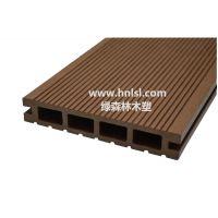 供应绿森林木塑空心地板_湖南木塑地板(LSLH-008A)