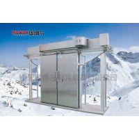 聚氨酯冷库门|厂家直销|电动双开不锈钢冷库门|山东奥纳尔制冷|