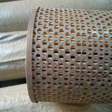 卷板冲孔网 镀锌冲孔板 圆孔消音板