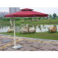 铝合金侧立伞 品牌:宏源 型号:可定制 特性?八股支架、加厚管承受力强防大风防紫外线