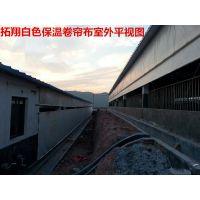 宿州三防透明猪圈卷帘 优质防水猪场卷帘布 产业用布