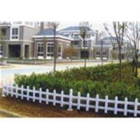 草坪护栏栏杆(图)|塑钢草坪护栏厂家|山东塑钢护栏