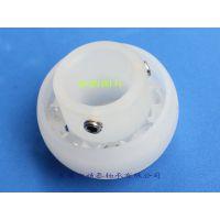 东莞厂家供应耐酸碱外球面塑料轴承UC201