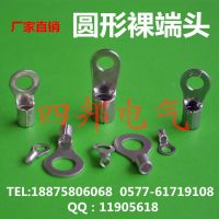 批发优质RNB14-6圆形裸端头 出口型冷压接线端子 环形接线端头