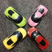 厂家直销 新款可爱卡通型小汽车插卡MP3小跑车迷你型播放器批发