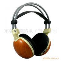 厂家直销USB线控高品质立体声带迷你麦克风DJ耳机