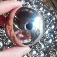 供应201不锈钢管装饰38mm小圆球带孔