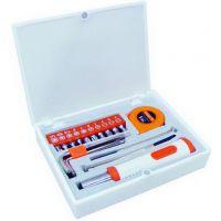 圣德保罗五金/工具>18件迷你型家用工具组合套装SD-032