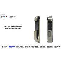 郑州安装一把正品三星指纹门锁718要多少钱