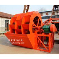 供应厂价直销ZM-2660系列顺流槽洗砂机 洗砂设备 水洗砂机 山东莱芜震鸣矿机 赚钱快