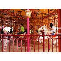 旋转木马 河南游乐设备厂家 许昌英博儿童乐园