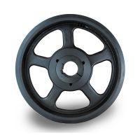 山东欧标皮带轮采购spz140-05选无锡帛扬锥套皮带轮