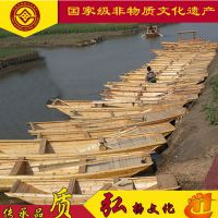 浙江上海广东江西哪有木船厂家出售旅游观光保洁渔船 纯手工制造工艺渔船