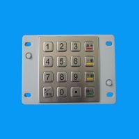 ATM机密码键盘防水防尘金属键盘自助查询机键盘