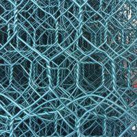 厂家促销申卓绿色包塑护河包石头铁丝网