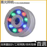 LED水底灯水下灯水池灯喷泉灯鱼池灯水下射灯