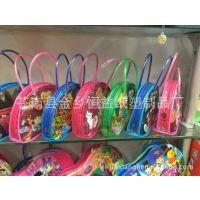 厂家订制 透明 游泳衣袋 手提袋 拉链袋 服装包装 立体PVC袋子