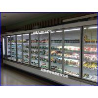 生鲜超市风幕柜 水果蔬菜保鲜展示柜 有机蔬果冷藏柜定做