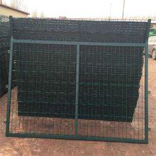 旺来篮球场围网生产商 隔离钢丝网 市政围栏网