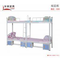 青海学生宿舍床 比普通床还耐用 连盈家具