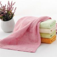 厂家批发 宏春100%竹纤维毛巾