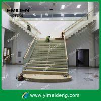 供应碳钢+大理石踏板整体室内楼梯YMD0928