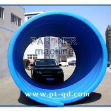 【直销】 HDPE中空壁缠绕管设备 PE管设备 青岛帕特【图】