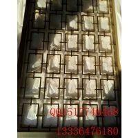 中式不锈钢青古铜屏风