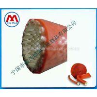 供应宣城鑫茂牌红色耐高温套管 电缆护套 电工电气线路护套