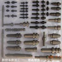 车削加工,CNC走心机加工,多孔位轴,多扁位轴,长轴,台阶轴