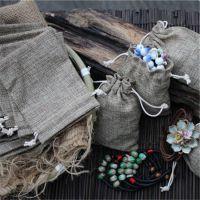 亚麻布袋 景德镇陶瓷饰品首饰袋 包装袋 厂家批发 质量好做工好
