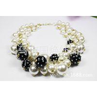 奢华珍珠短链 性感迷人  厂家直销  非主流耳环  纯手工制作